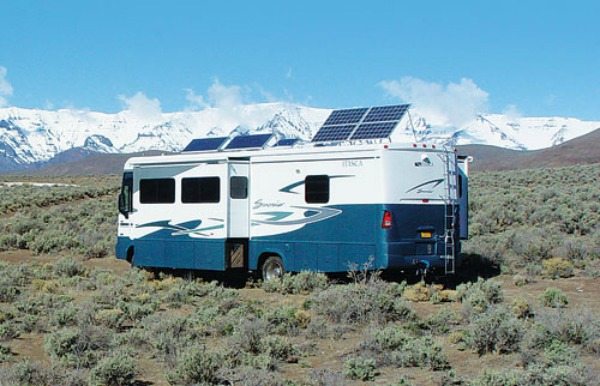 portable solar panels for caravans