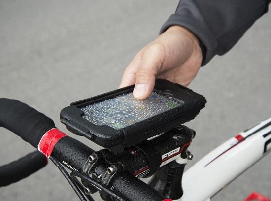 Bike Handlebar Mount for iPhone 6
